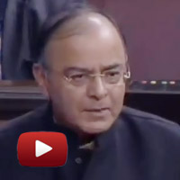 UPA, duck government, Arun Jaitley Speech Rajya Sabha FDI, FDI to states, ibtl video