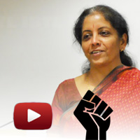 Smt Nirmala Sitharaman, National Spokesperson, BJP, ibtl samvaad video, Nirmala Sitharaman speech, indian economy, congress vs bjp 2014