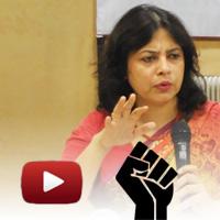 Meenakshi Lekhi, lawyer supreme court, Bharat Samvaad lekhi video, meenakshi lekhi speech,