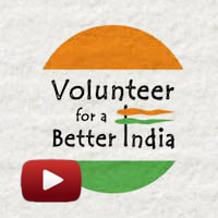 Corruption, belongingness ends, Volunteer for a Better India, #VFABI, sri sri in delhi, Art of Living, violence free planet