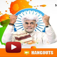 GoogleHangout with Nirmala Sitharaman, NaMo Connect, I Support Narendra Modi