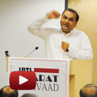 Shri Maheish Girri speech,  International Director Art of Living, IBTL Bharat Samvaad videos, BJP