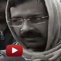 Kejriwal dharna, rail bhawan, delhi police, aap