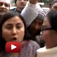 AAP workers misbehaved, ABP News video, assault cameraman