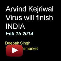 Kejriwal Virus, Deepak Singh